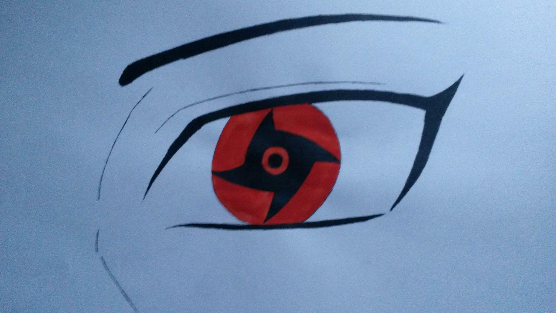 How To Draw Eyes Shisui Mangekyou Sharingan Color Youtube