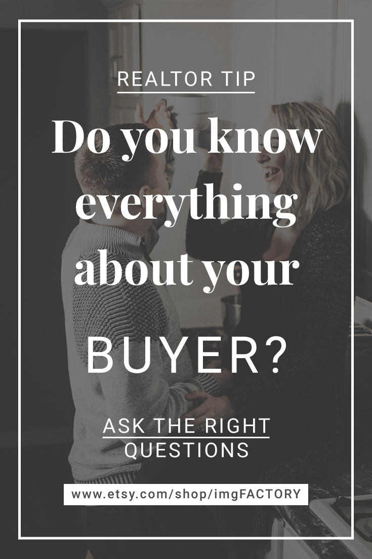 Real Estate Buyer Questionnaire, Buyer Consultation Form