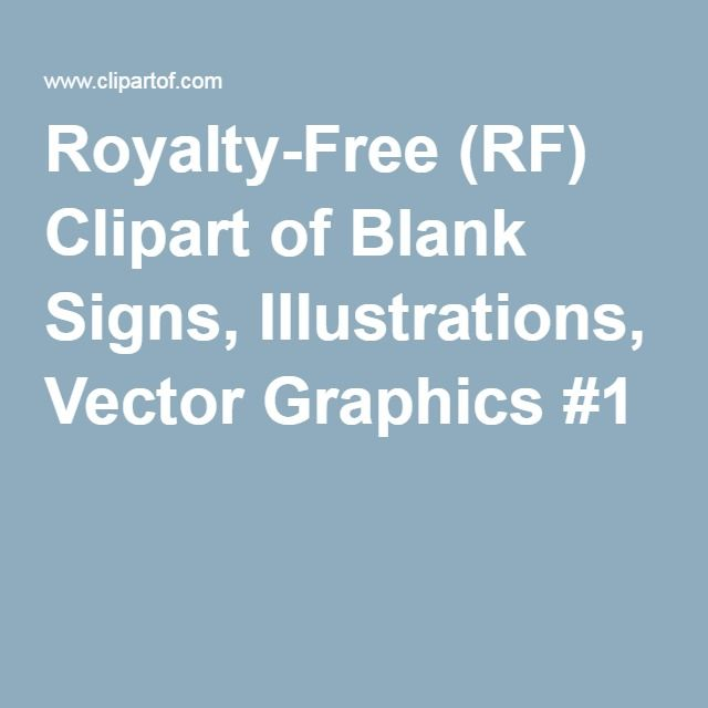 Royalty-Free (RF) Clipart of Blank Signs, Illustrations, Vector Graphics #1