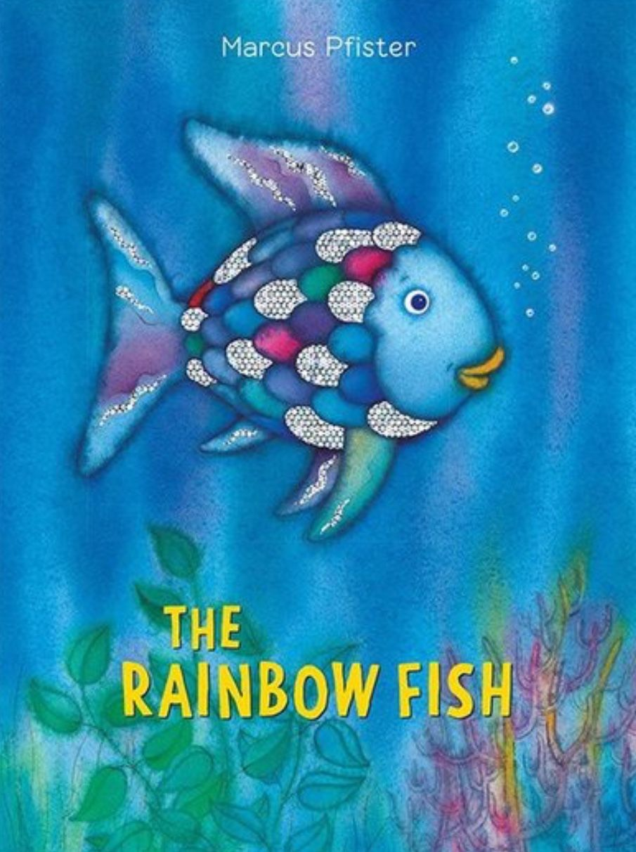 Pin By Shelley N On I Can Read When Someone Adds More Hours To The Day Rainbow Fish Book Rainbow Fish
