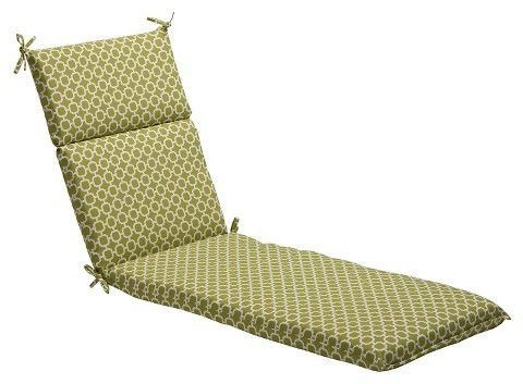 outdoor chaise lounge cushion green white geometric products rh pinterest co uk