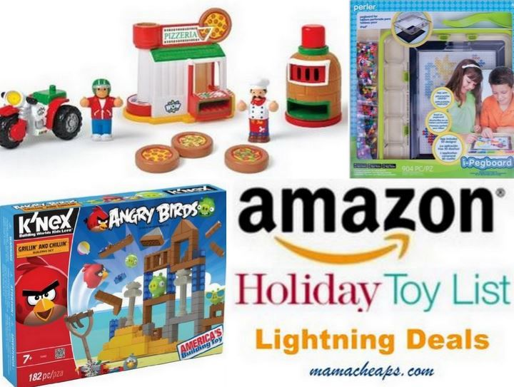 MamaCheaps.com: Schedule for Today's TOY Lightning Deals on Amazon (11/9) – K'NEX Angry Birds, WOW Mario's Pizzeria, Perler Beads Starter Kit