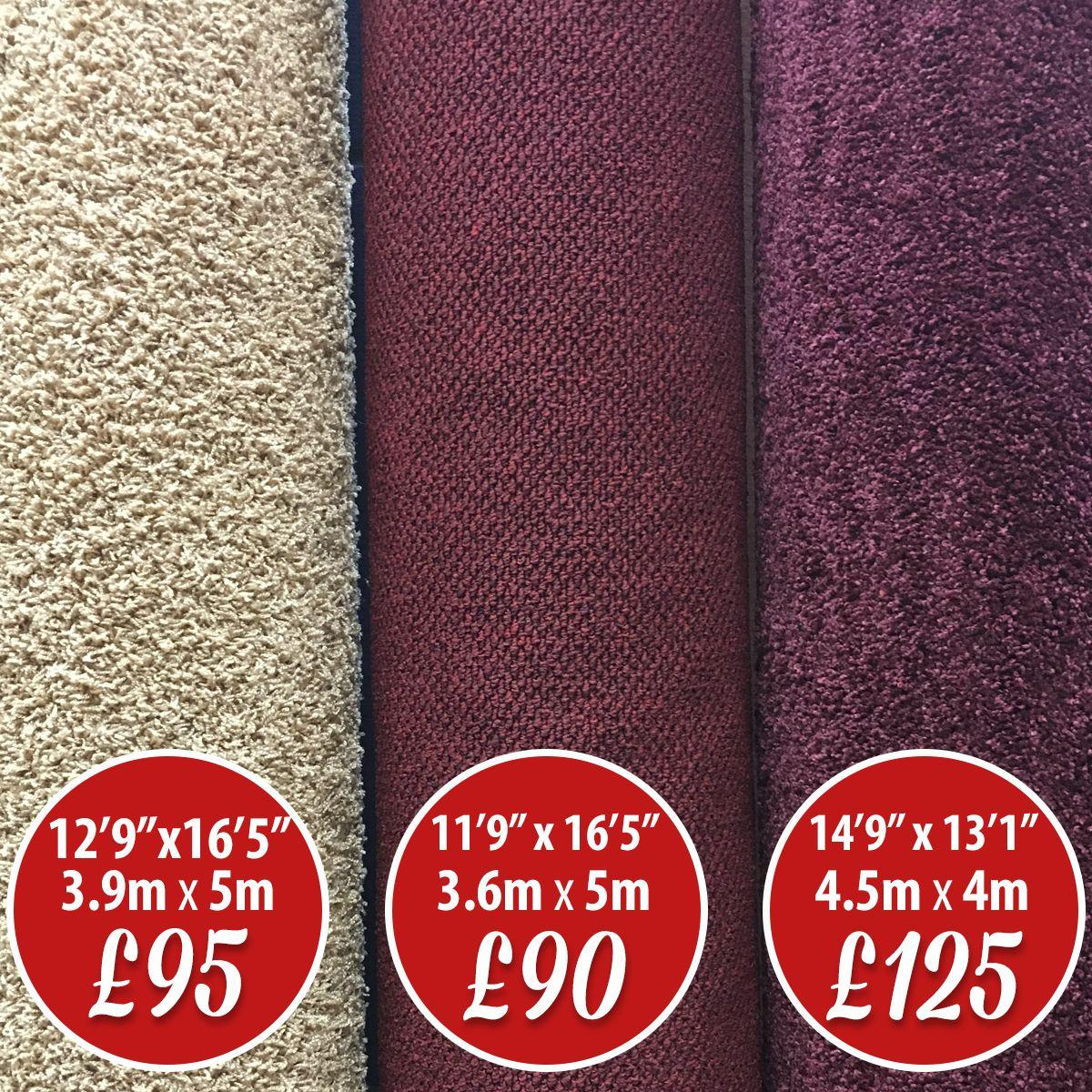 Carpet Roll Ends Sale Beige Left 3 9m X 5m 12 9 X 16 5 95 Middle Carpet We Re Calling This Quality Carpets Local Delivery Service Carpet