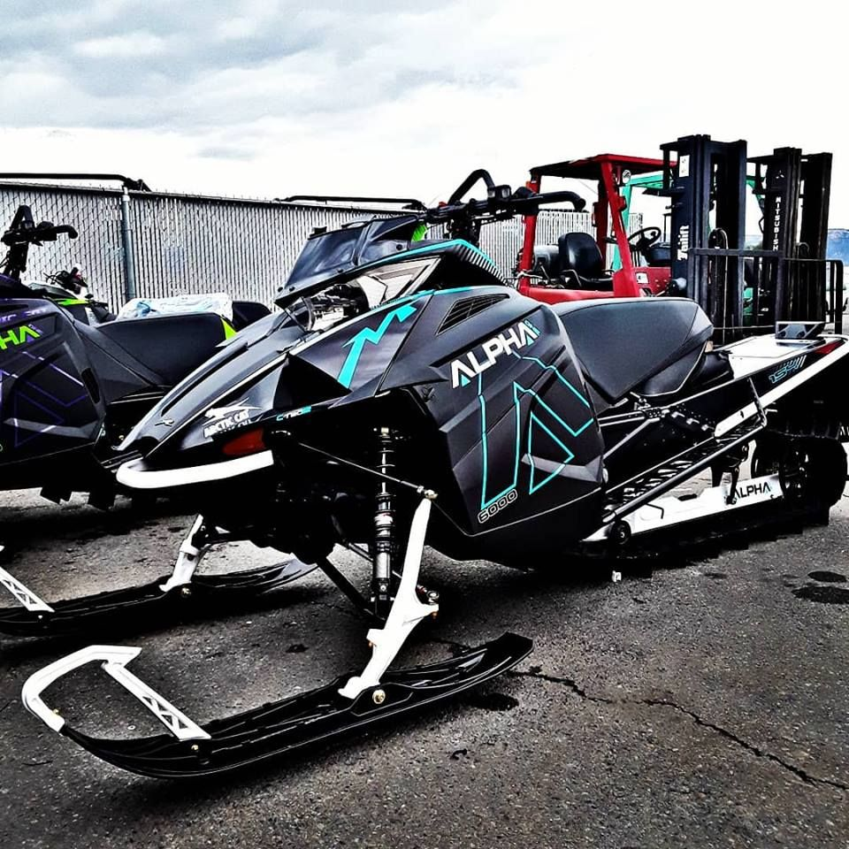 Is it cold outside or is that the 2019 Arctic Cat M 6000
