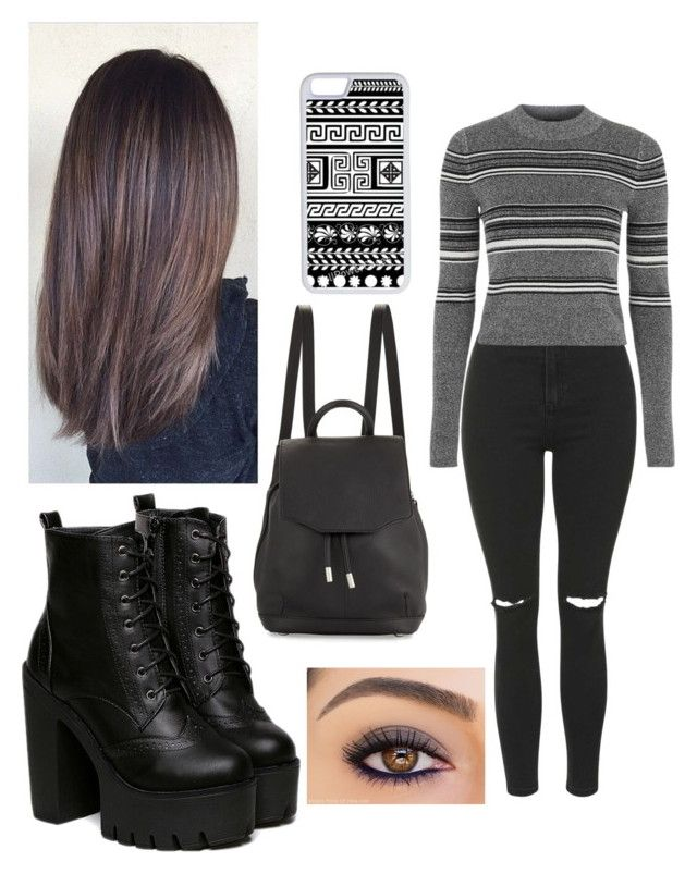 """""""Untitled #186"""" by sfcisalive ❤ liked on Polyvore featuring Topshop, rag & bone and CellPowerCases"""