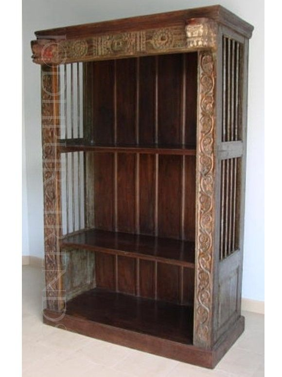 Jodhpurtrends.com Indian Antique Reproduction Jodhpur Bookshelves  Iron Bookcase