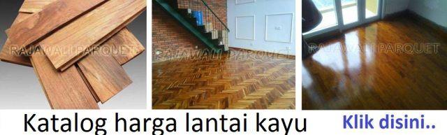 Toko Parquet jual lantai kayu harga murah Lantai kayu