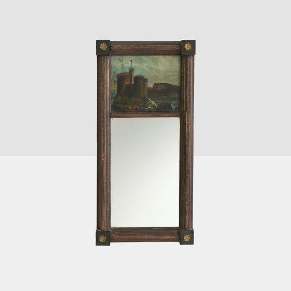 antico specchio federale trumeau stile specchio di homeandhomme