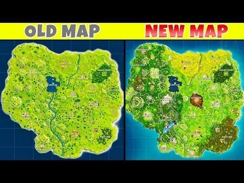 bf95eedc7b49 10 BIGGEST Map Changes in Fortnite - One of the main aspects of fortnight  in the