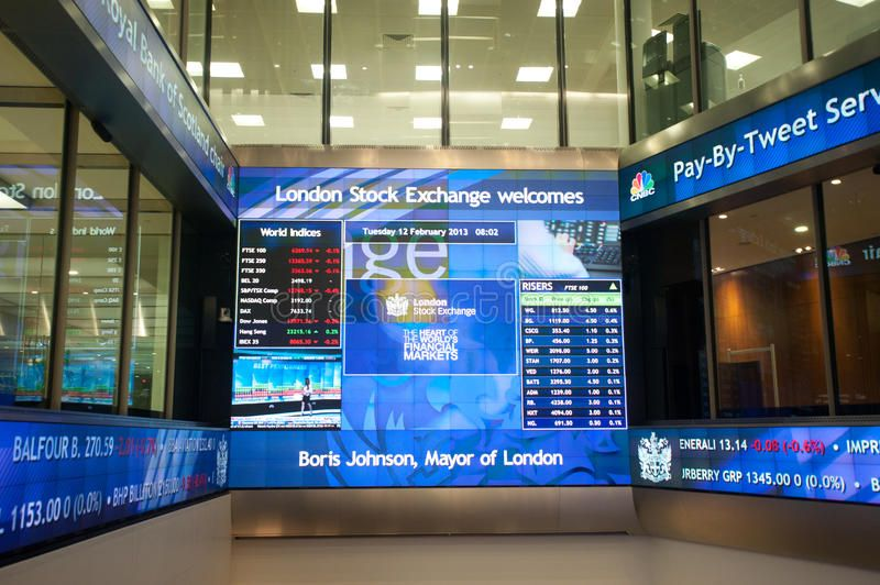 Inside The London Stock Exchange The London Stock Exchange Hall In London On Fe Affiliate Hall February E London Stock Exchange Stock Exchange London