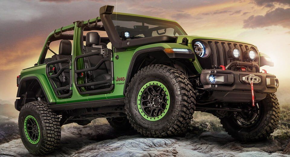 New Wranglers Show Off Mopar Jeep Performance Parts Jeep