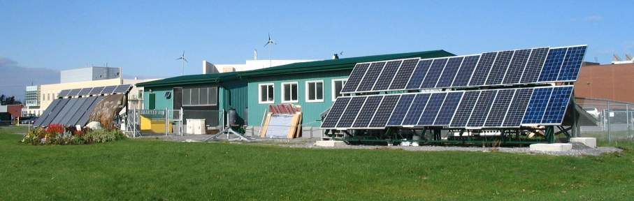 Energy House St Lawrence College Solar Panels Sustainable