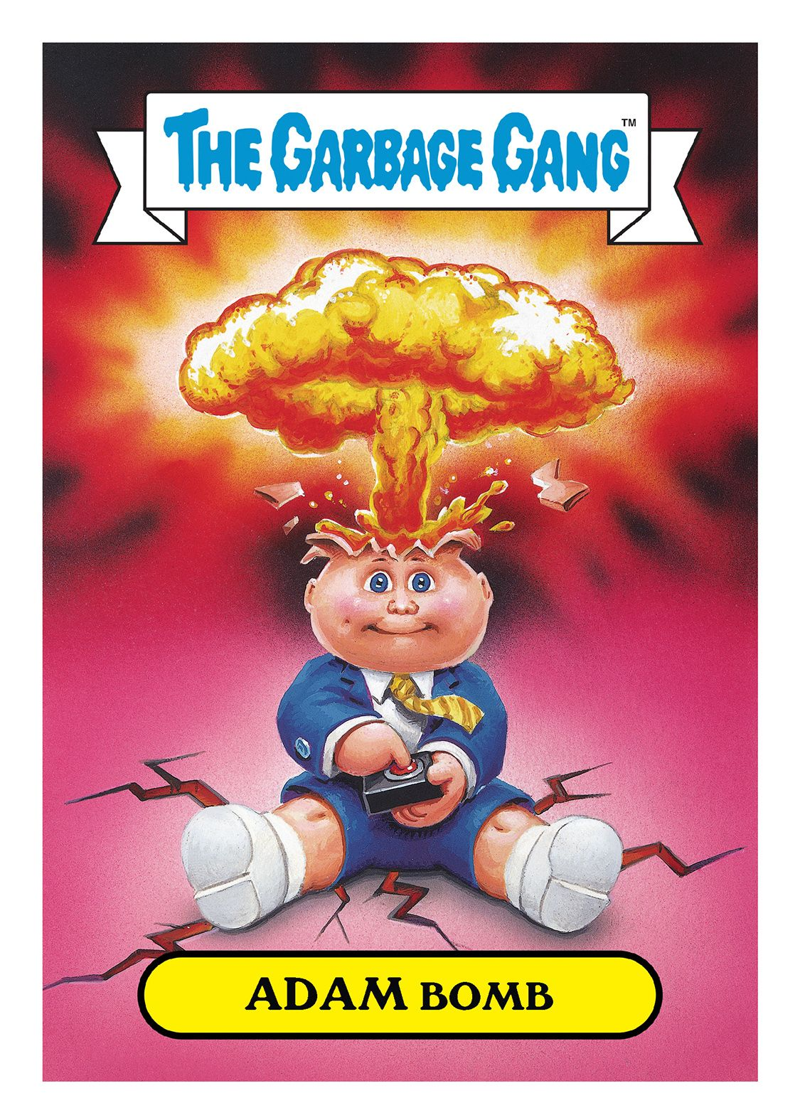Garbage Pail Kids 2015 Comic Con Exclusive Set Of 50 5x7 Jumbo Cards Entertainment Non Sports Cards Garbage Pail Kids Garbage Pail Kids Cards Kids Magnets