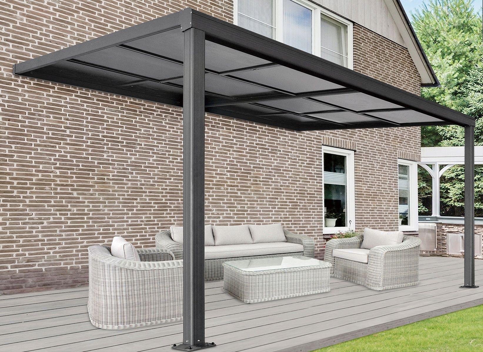 Zadaszenie Tarasu Z Rozsuwanym Dachem 300x400 Cm 9249381793 Oficjalne Archiwum Allegro Pergola Outdoor Structures