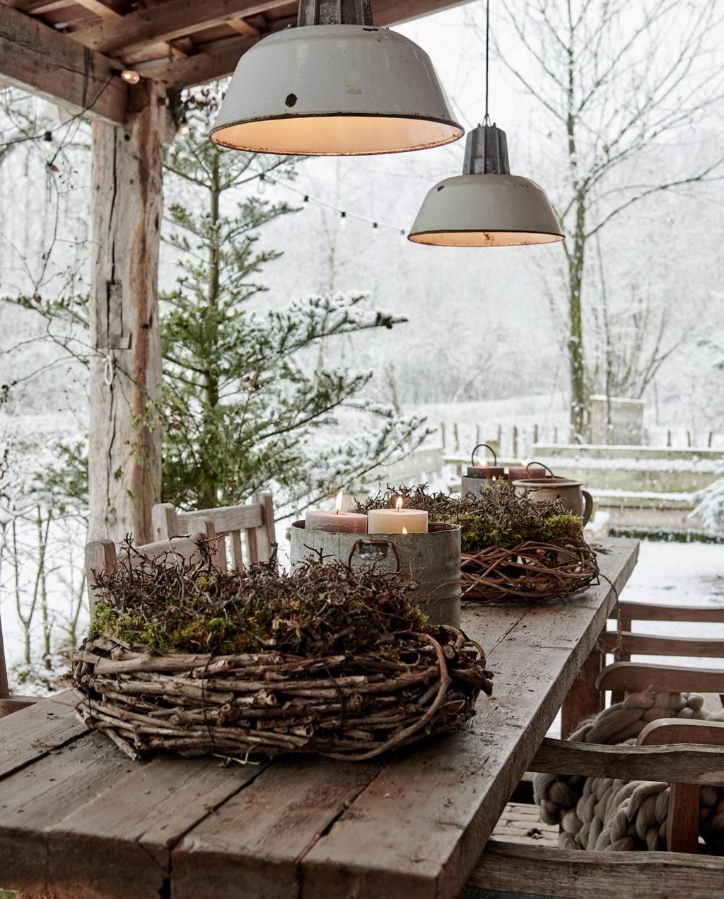 Photo of Noël vert et naturel dans une ancienne ferme – PLANETE DECO a homes world
