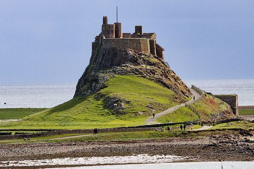 Lindisfarne Castle    Lindisfarne looks like it has been torn straight from the pages of a fairytale picturebook. Full of alluring charm, the castle is the island's most distinctive feature and can be admired from Northumberland's coast for miles around. The island itself is accessible via a tidal causeway which is covered by the North Sea twice a day, cutting inhabitants off from the wider world beyond.