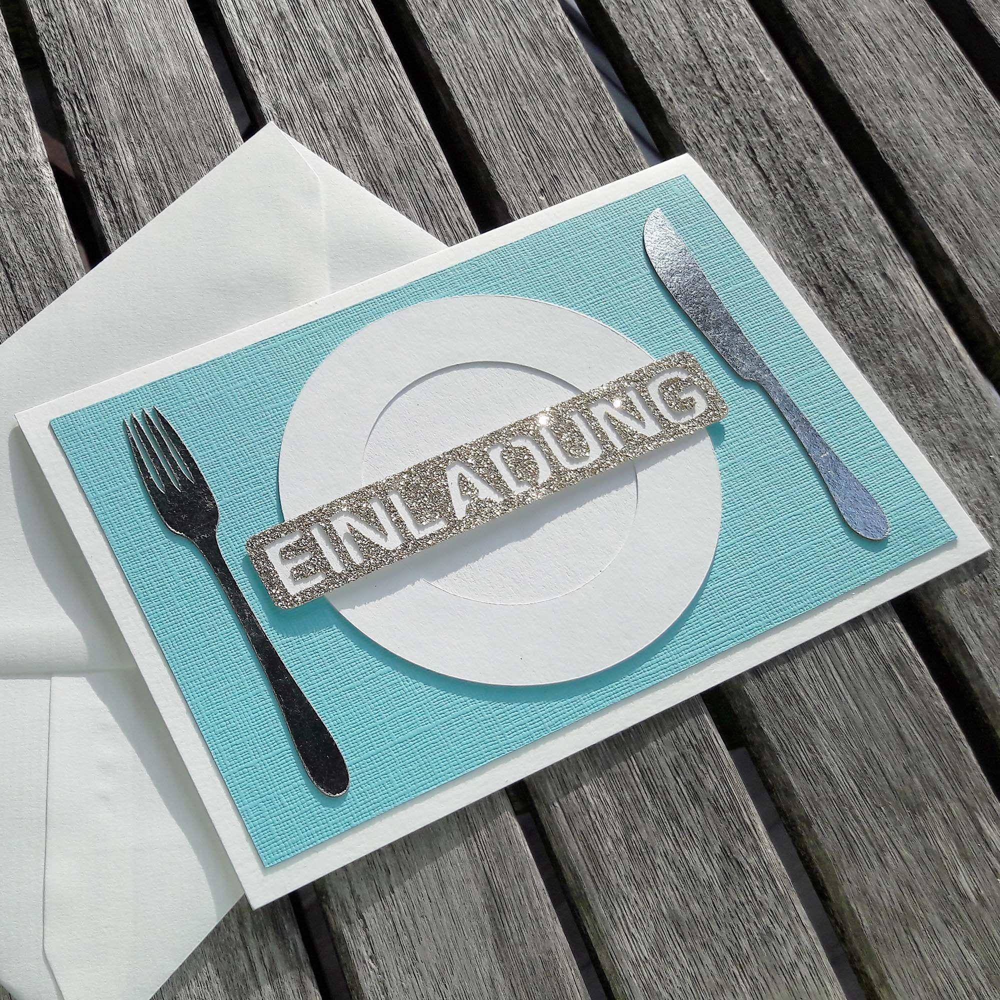 Photo of EINLADUNG zum Essen Geschenk Gutschein