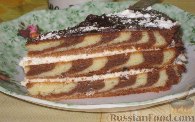 торт зебра рецепт крема