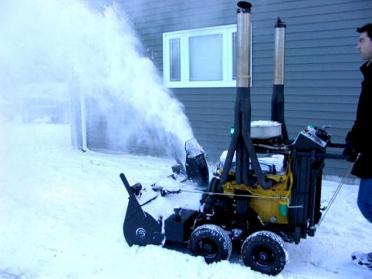 0b7fc21d9fc4ea2fec0071376b18de41 for the man with everything the v8 snowblower biggest snow  at mifinder.co