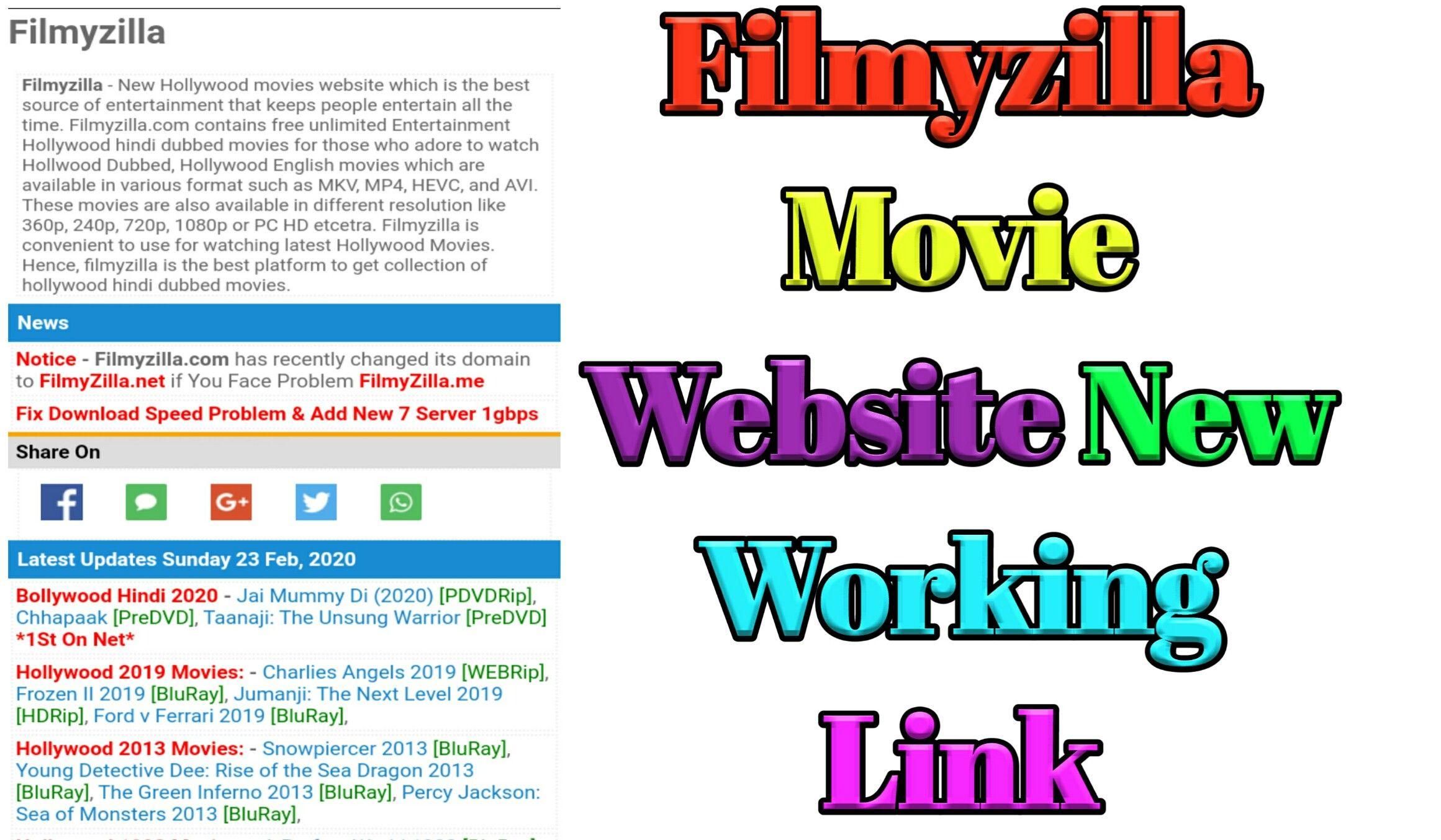 Filmyzilla 2020 download latest bollywood hollywood