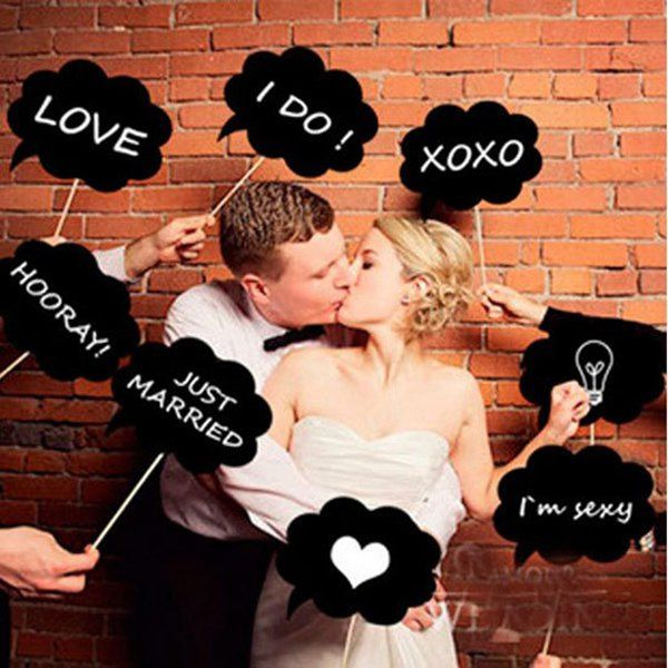 Wholesale A Set of 10 New Simple Cloud Shape Blackboard Photo Props Only $3.72 Drop Shipping | TrendsGal.com
