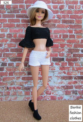 S26 | Anel Lombard | Flickr #crochetedbarbiedollclothes