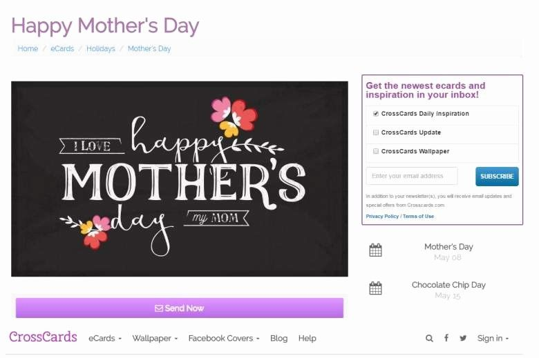 Mother Day Card Template Word Inspirational Mother S Day Cards Ecards 2016 Best Greetings Mothers Day Card Template Card Template Personalized Greeting Cards