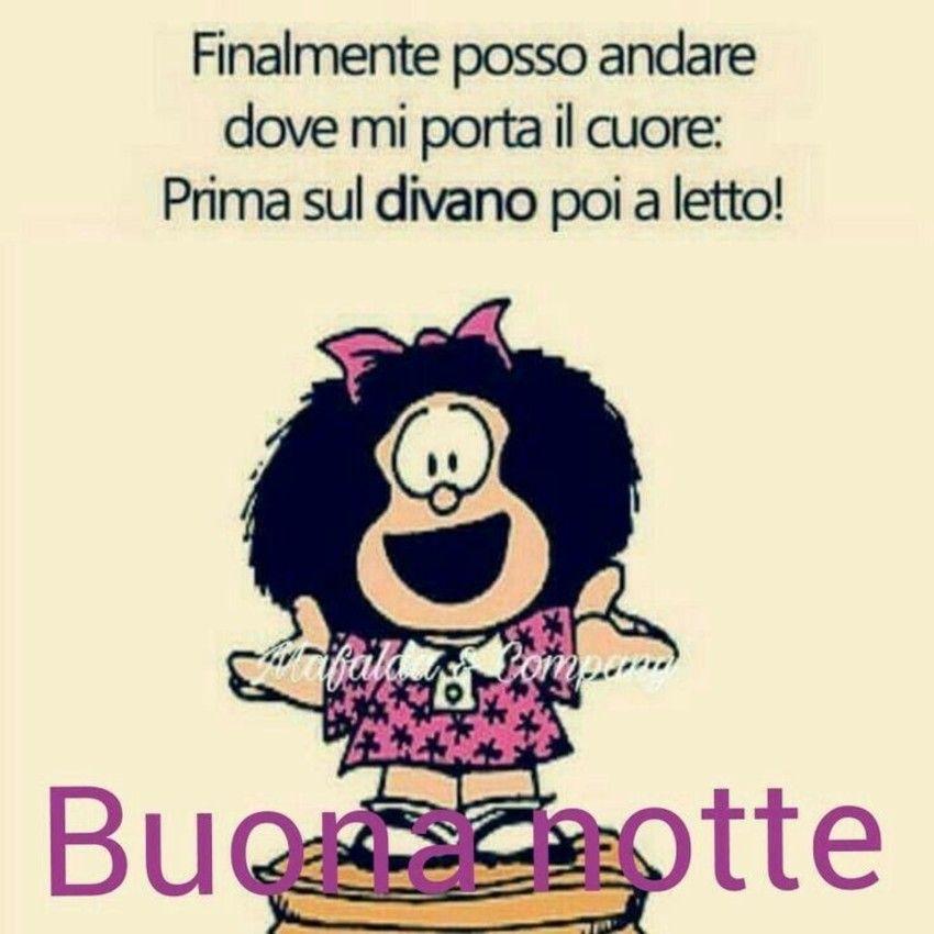 Buonanotte Immagini Simpatiche Con Mafalda Con Immagini Buona