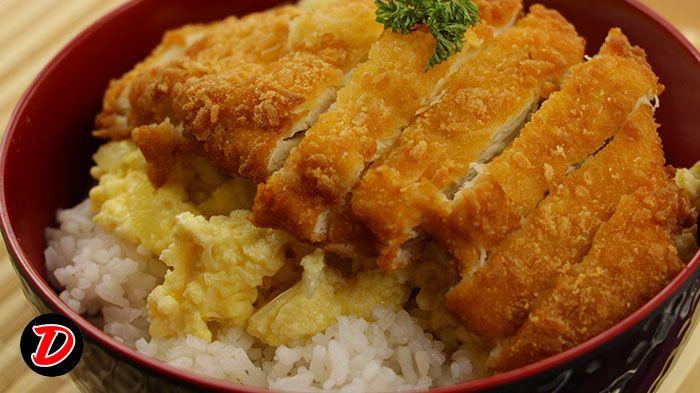 Resep Chicken Katsudon Ikuti Video Masak Cara Membuat Chicken Katsudon Nya Step By Step Ya Pertama Siapkan Bahan