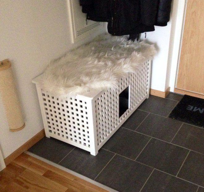 ikea hol kattl da hunde und katzen katzenklo katzen klo und katzen. Black Bedroom Furniture Sets. Home Design Ideas