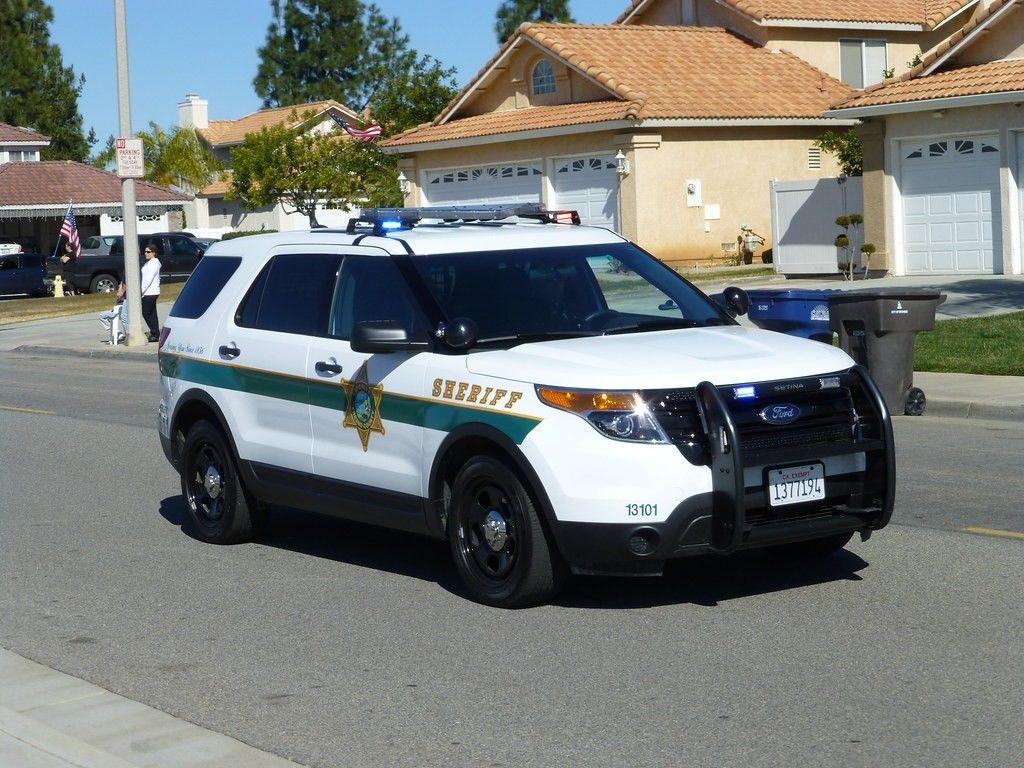 Orange County Ca Sheriff 13101 Ford Police Interceptor Utility Police Cars Ford Police Emergency Vehicles