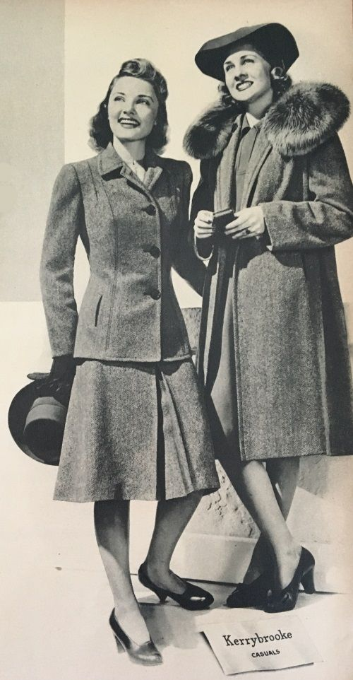 Fashion Flashback Wwii Women S Fashion: Women's 1940s Victory Suits And Utility Suits