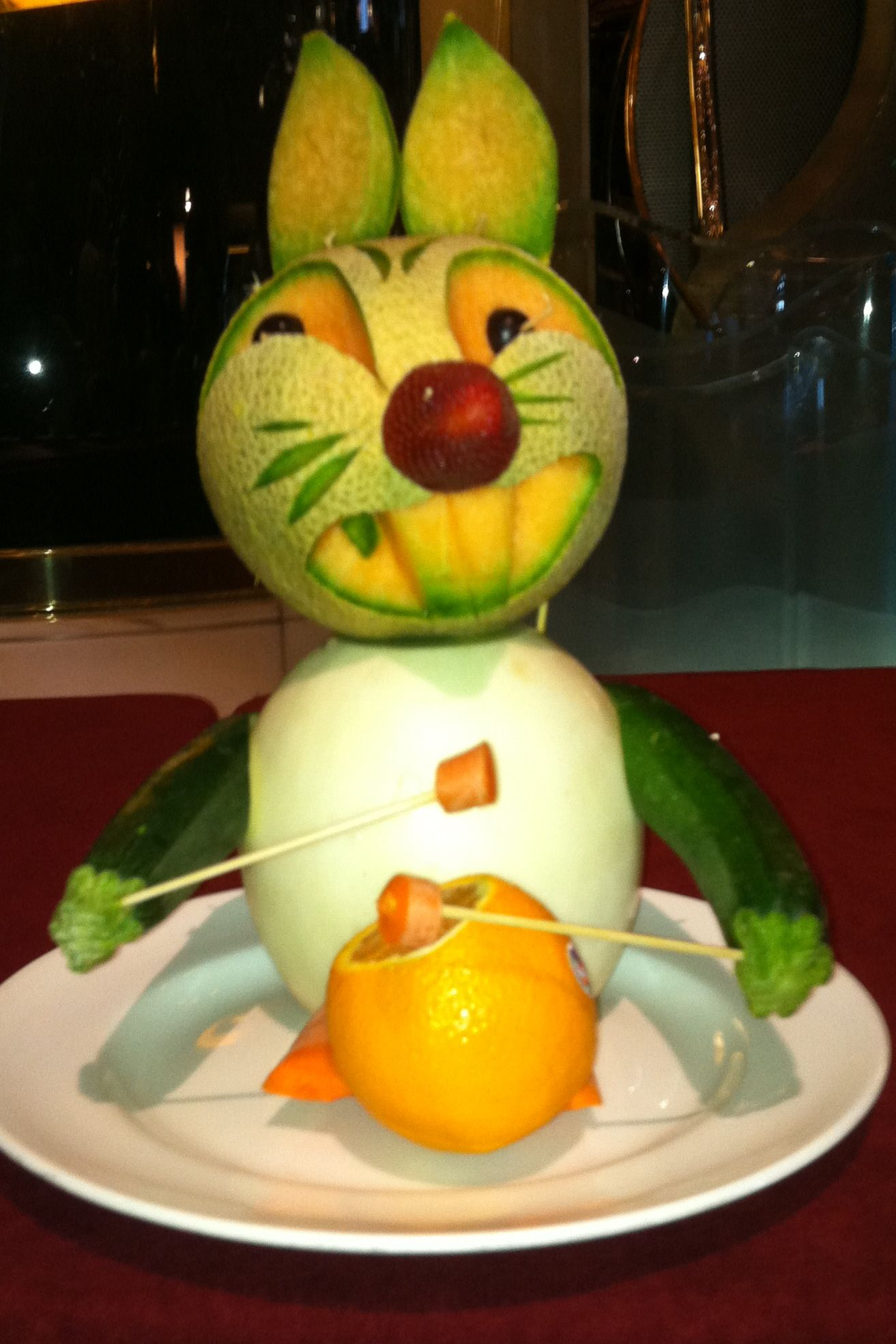Fruitcarvingpictures fruit carving fruits u vegetables