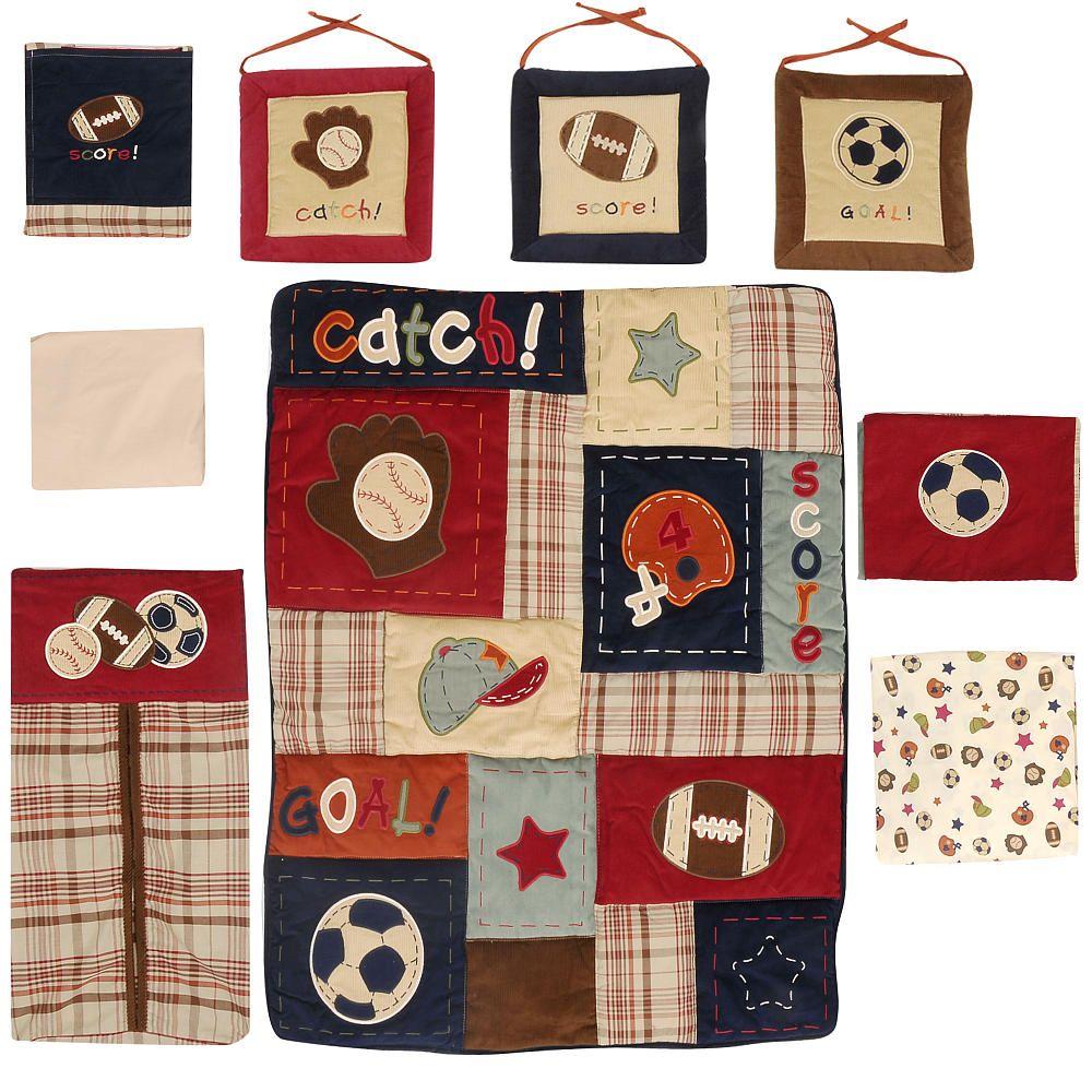 Crib organizer babies r us - Nojo My Little Mvp 9 Piece Crib Bedding Set Nojo Babies R