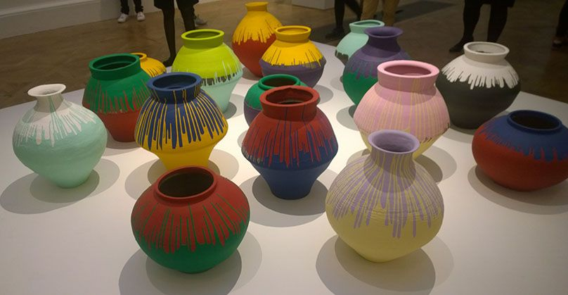 Coloured Vases 2015 Ai Weiwei At The Royal Academy Of Arts Twelve