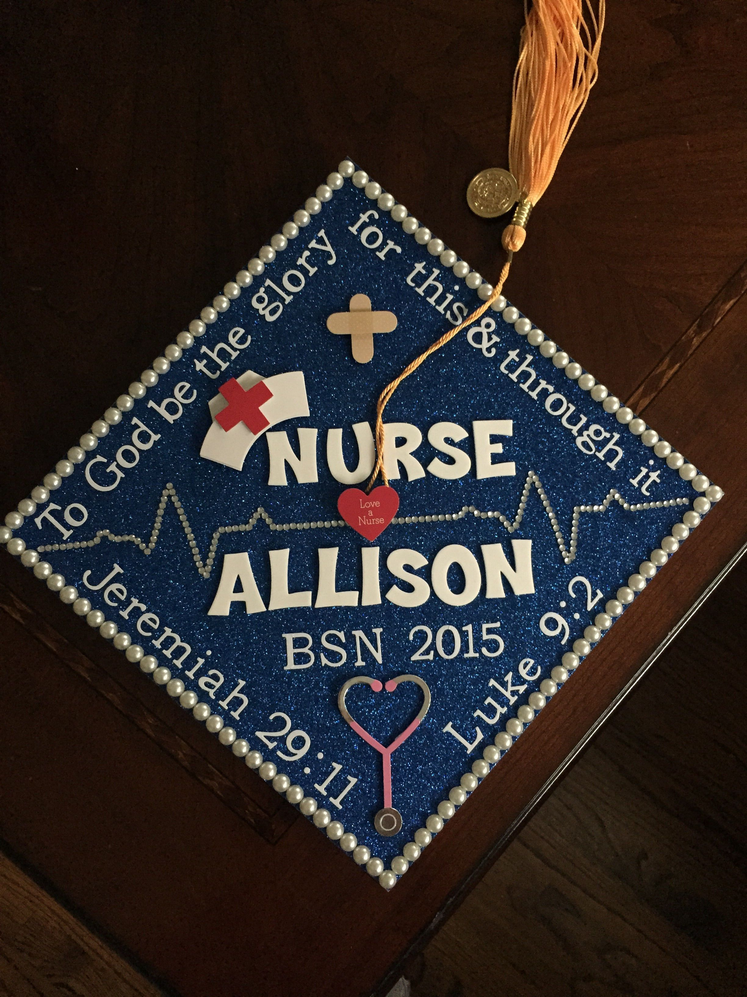 9 Best Graduation Cap Ideas for Everyone in 9  Bsn