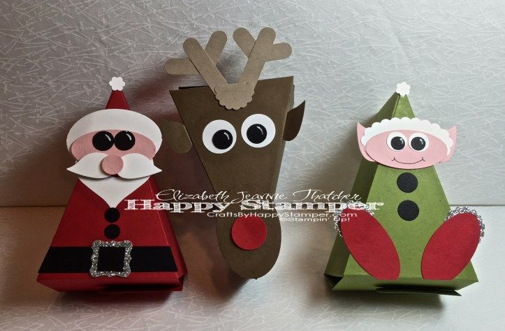 christmas critters cutie pie thinlits stampin up. Black Bedroom Furniture Sets. Home Design Ideas