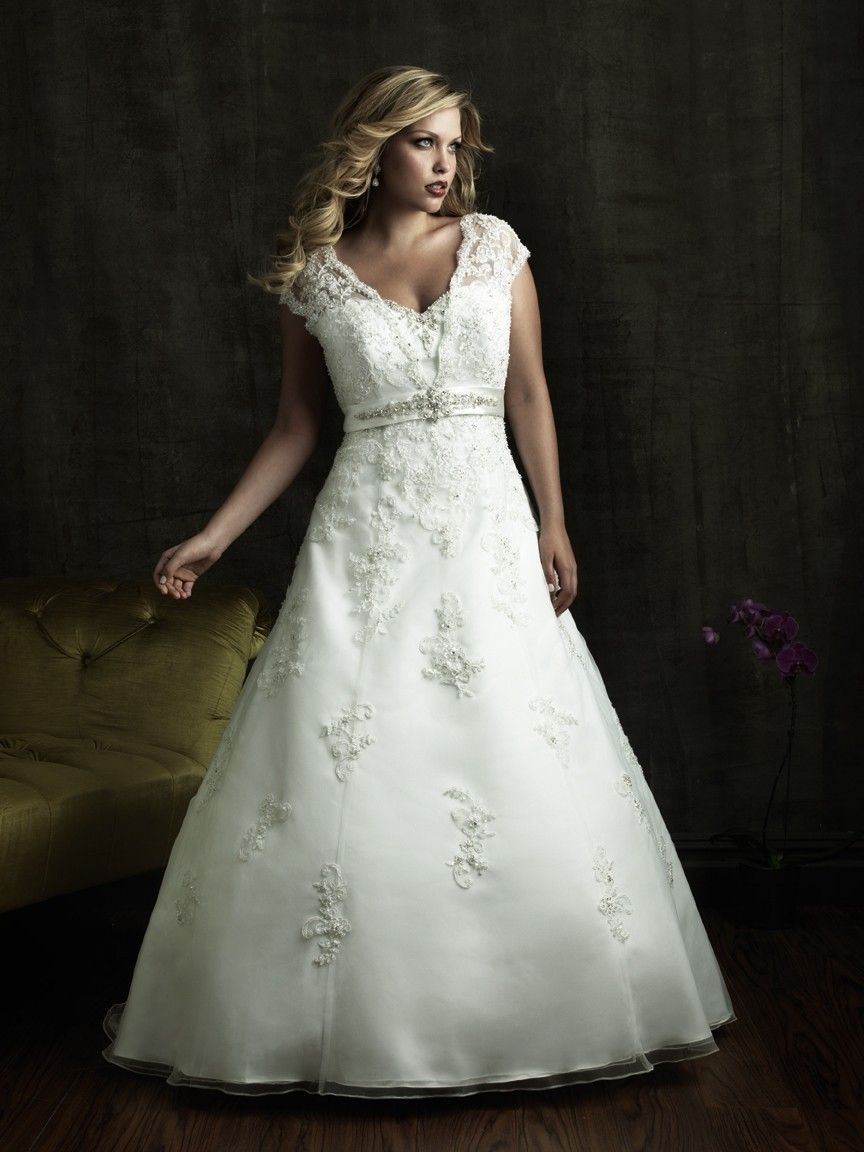 Allure Bridals W271 Plus Size Bridal Dress Weddingdresses Wedding