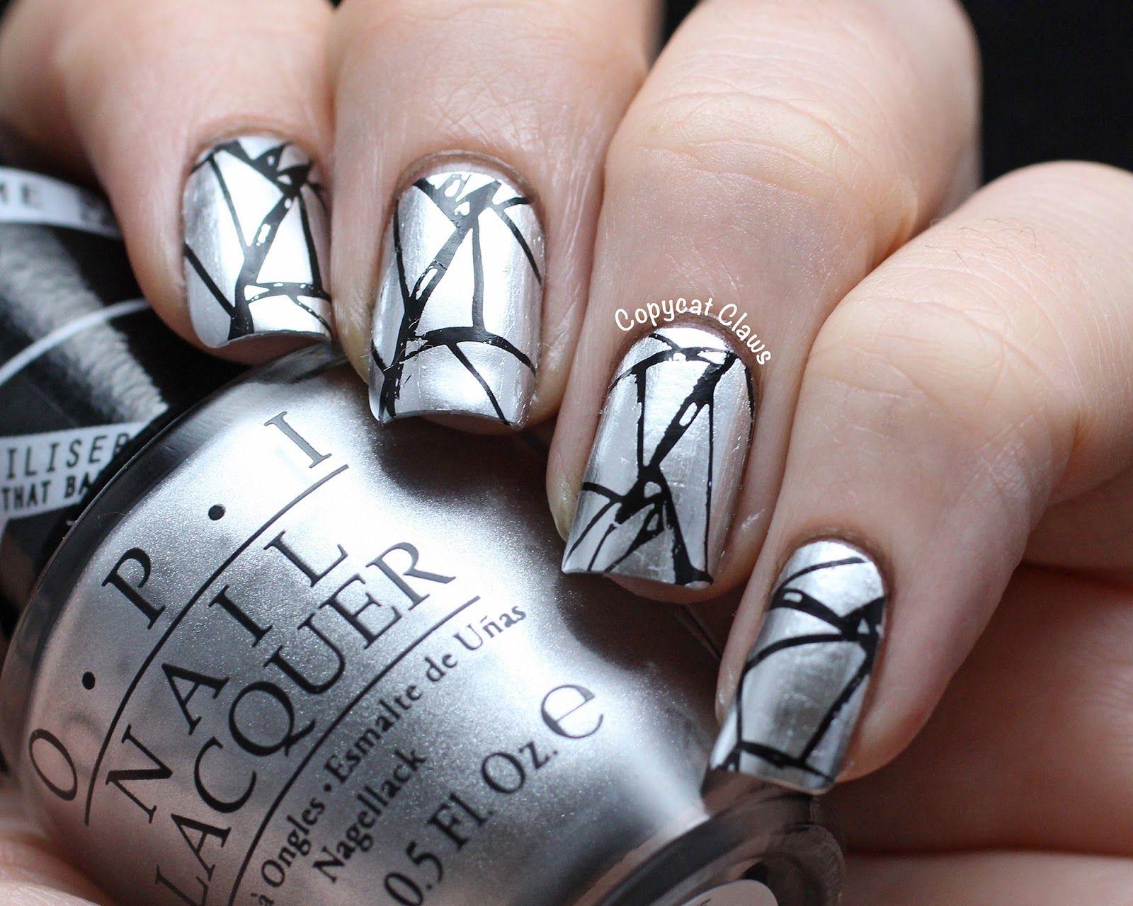 Copycat claws broken mirror nail nails nailart nail art copycat claws broken mirror nail nails nailart prinsesfo Choice Image