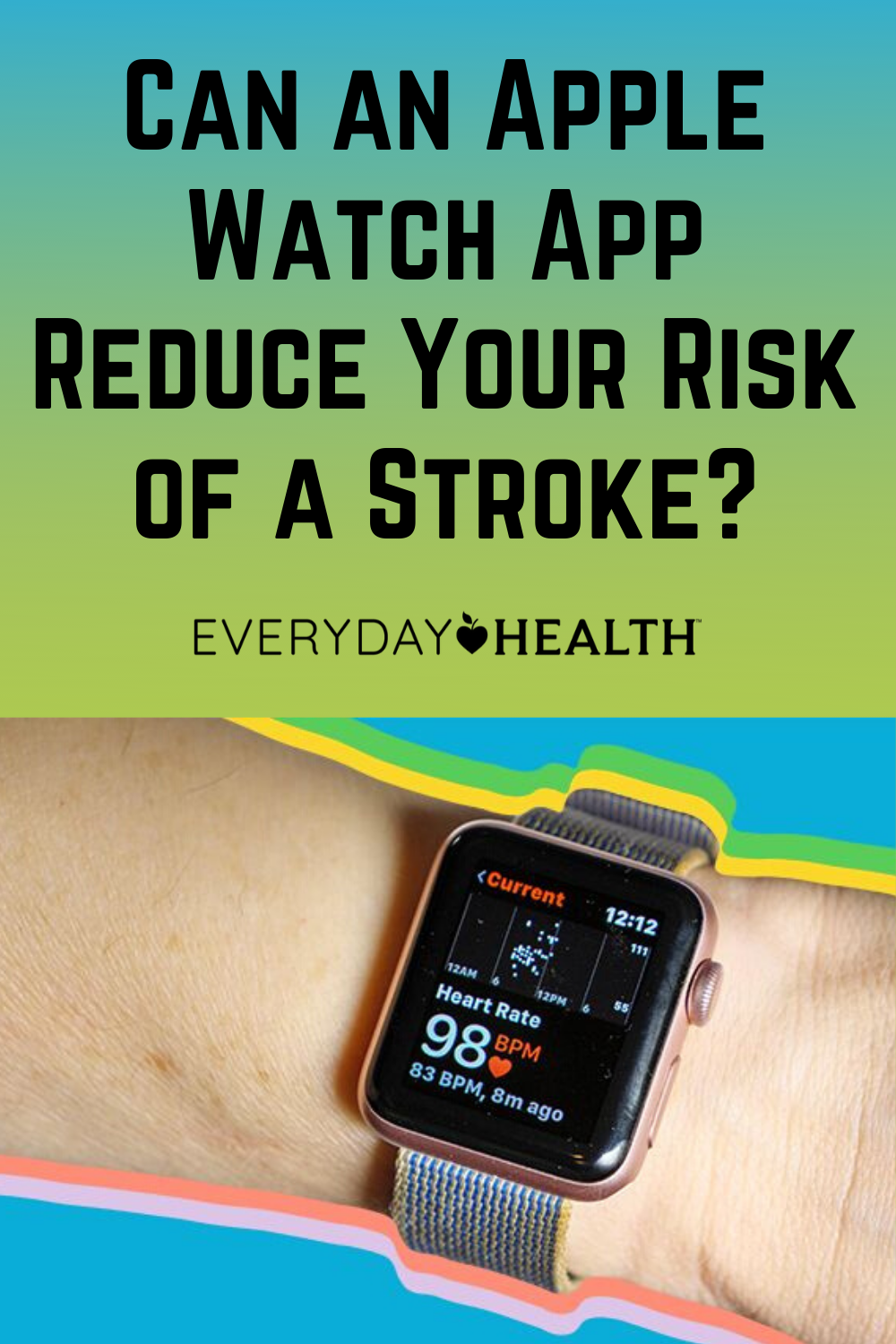 Can an Apple Watch App Reduce Your Risk of a Stroke