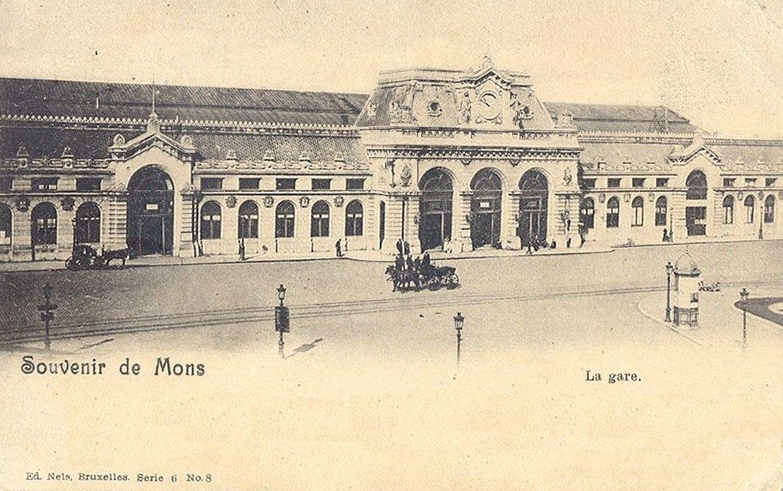 Souvenir de Mons La gare (met afbeeldingen) België