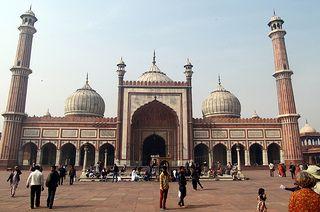 India, Delhi, Jama Masjid mosque | Flickr - Photo Sharing!