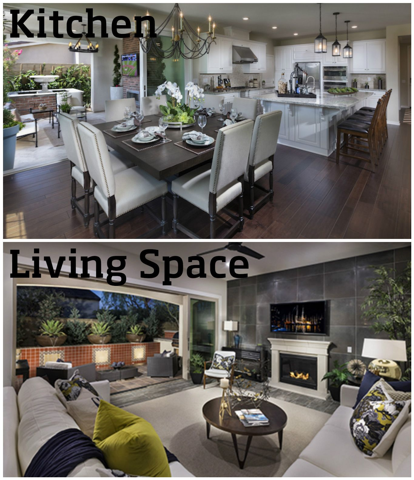 Would You LIKE The California Room To Connect To The Kitchen Or Living Space ?