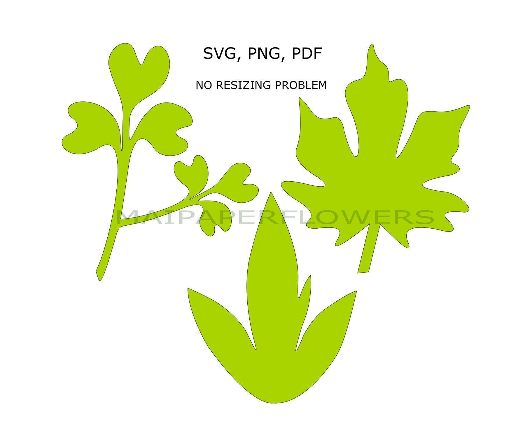 Printable sheet template, flower sheet template, pap - Paper Flower Backdrop Wedding #leaftemplate