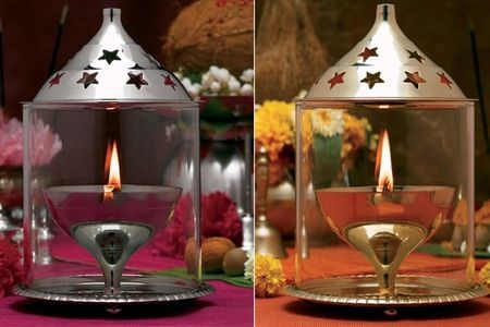Borosil Akhand Diyas in Brass and Nickel at Rs 395 from Groupon