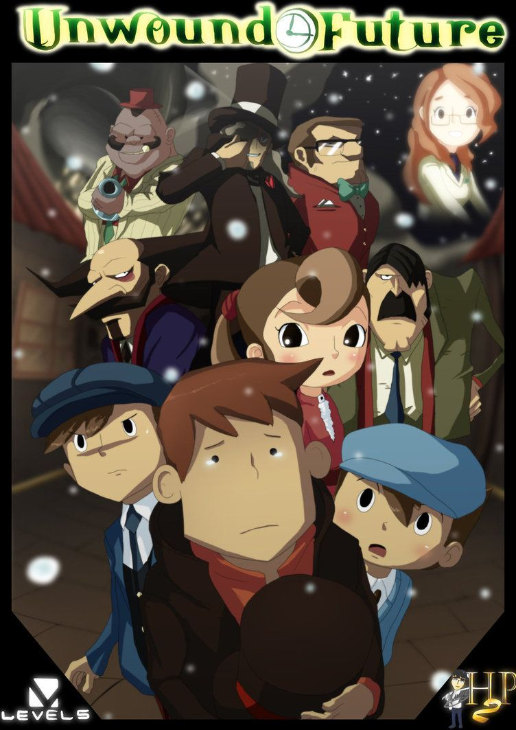 Prof Layton And The Unwound Future Cries Professor Layton
