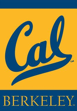 Cal Berkeley Bears Premium Ncaa Team 28x40 Banner Flag Bsi Products University Of California Berkeley College Logo