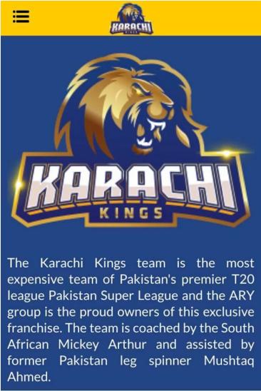 Karachi Kings Apk Karachi King South African