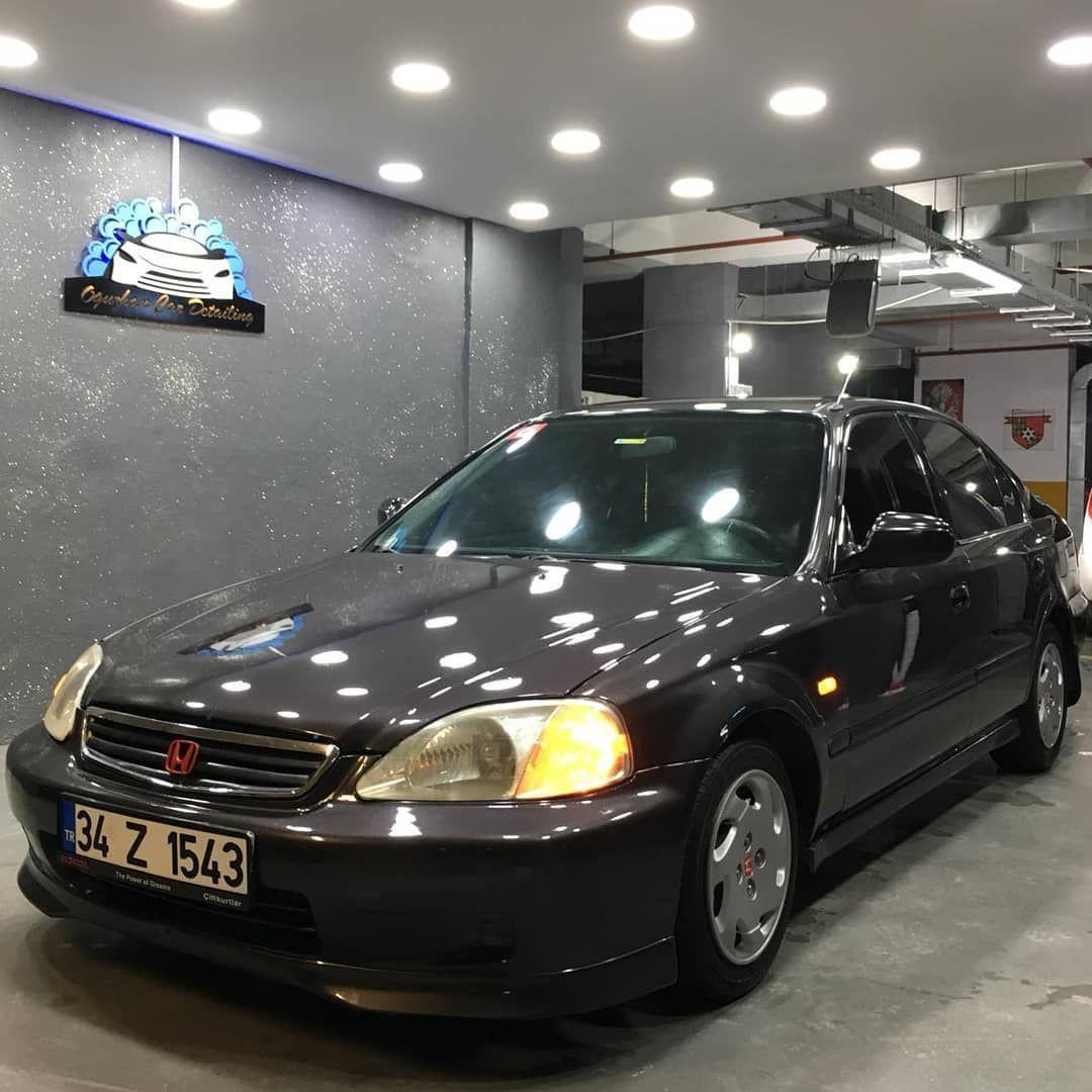 Boya Koruma Uygulamasi Civic Honda Hondacivic Jdm Car