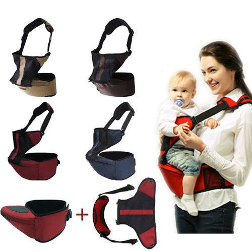 d54f5dbde11 Baby Kid Toddler Safety Hipseat Hip Seat Front Carrier Belt Sling Hugger  Harness